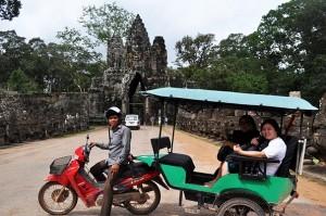 A friendly tuk tuk driver in Siem Reap