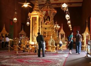 Inside the Silver Pagoda