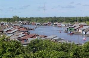 Prek Toal floating village