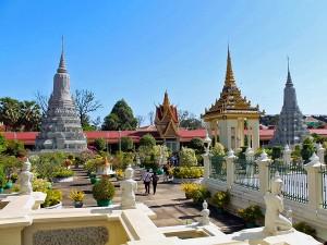 Stupas in the pagoda