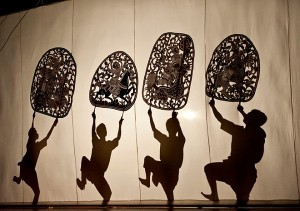 The Shadow Dance in Cambodia is different from one of Thai in many aspects.
