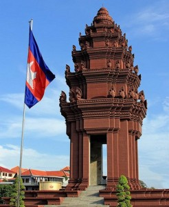 The structure of the monument is combined by both Cambodian's ancient culture and modernity