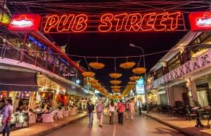 Angkor Night Market is on Pub Street