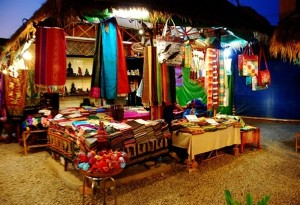 Shops with many delicate handicrafts