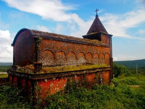 A church at the Preah Monivong National Park