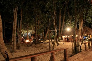 Koh Ta Kiev – jungly island is the best island for camping
