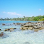 Gorgeous beach at Koh Ta Kiev Island