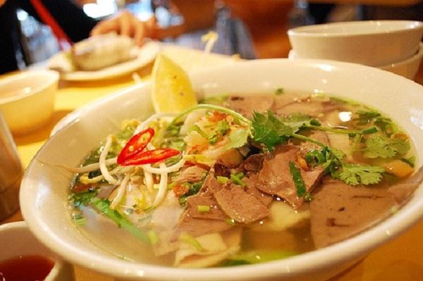 The most popular breakfast in Cambodia