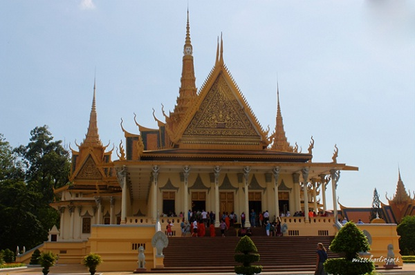 The sacred Throne Hall in Royal Palace