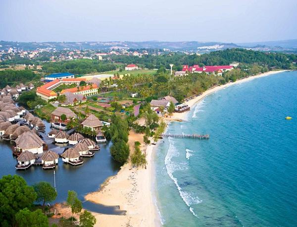 Stunning overview of Sokha beach