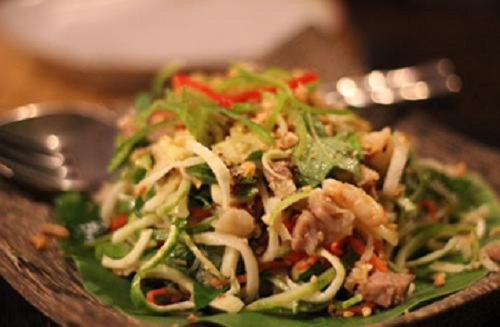 The most popular salad in Cambodia