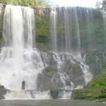 Rum Near Waterfall