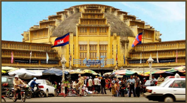 Abundant markets in Phnom Penh