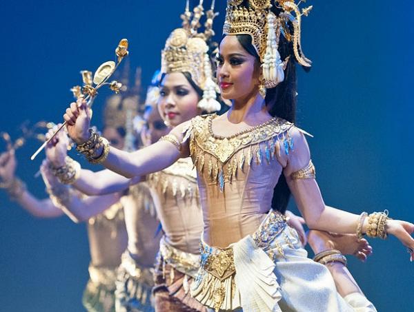 Beautiful Apsara dance in Siem Reap