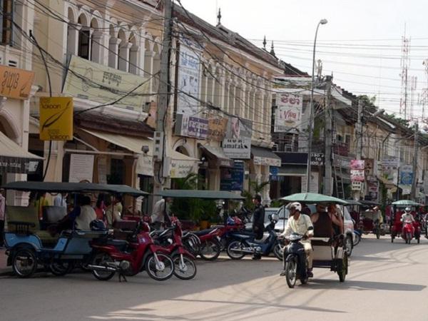 Tuk Tuk in Siem Riep, Cambodia
