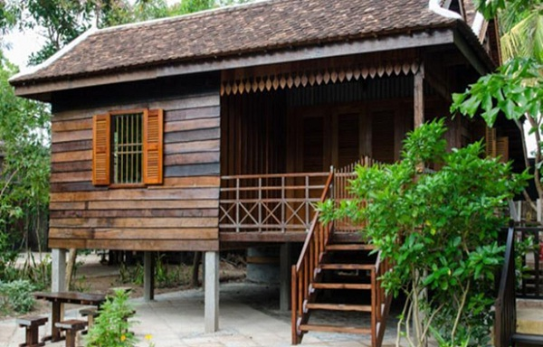 Palm Village Resort offers traditional Khmer-style houses