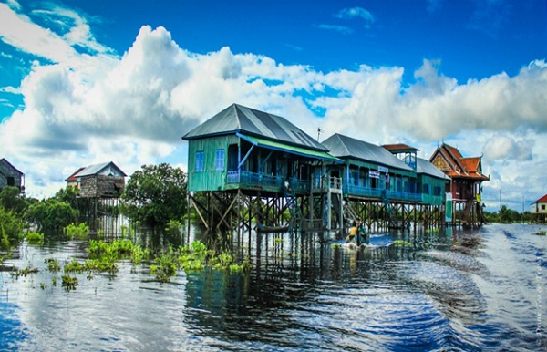 Kampong Phluk Floating Village, one of the wonderful things to see in Siem Reap