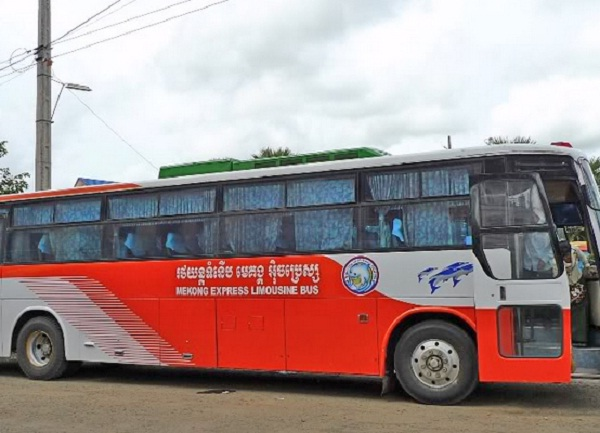 Mekong Express is the most popular bus company in offering trips between Siem Reap and Phnom Penh