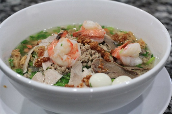 Nam Vang Noodle originated from China but it is a perfect breakfast for Cambodian people