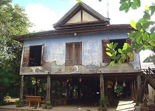 """The cultural village of Watkor includes several """"ancient wooden houses"""" from the early 20th century"""