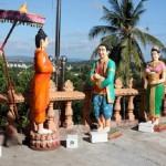 A statue in Wat Krom, Cambodia