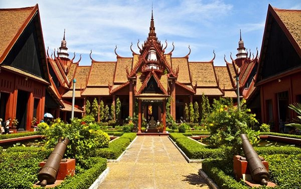 Phnom Penh is one of beautiful capitals of Cambodia while traveling by waterways