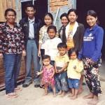 Cambodia family
