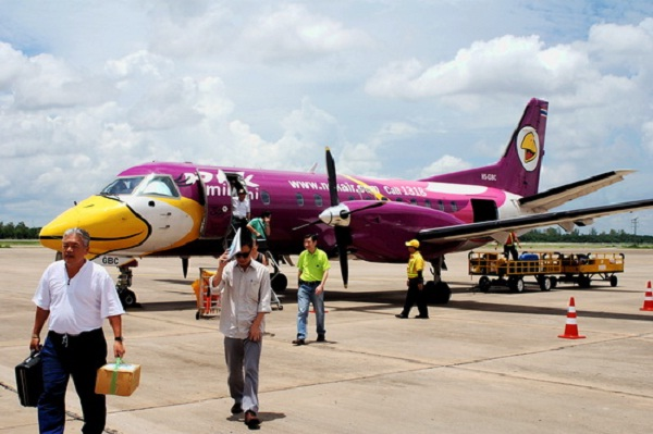 Domestic flight in Myanmar
