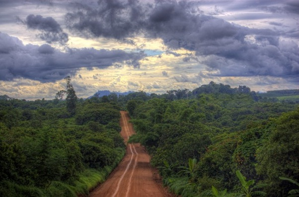 Roads in Ratanakiri may cause travelers a little trouble