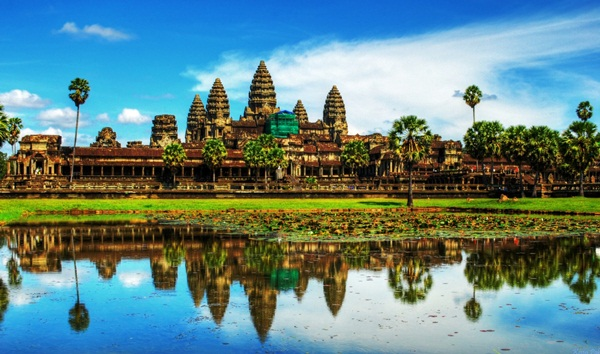 Angkor Wat - the most famous destination in Cambodia