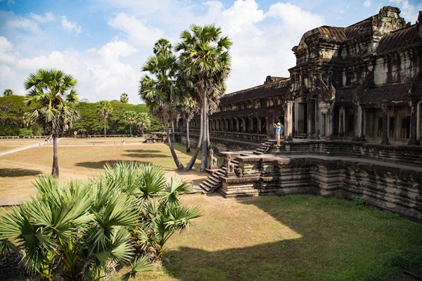 Siem Reap in sunny day