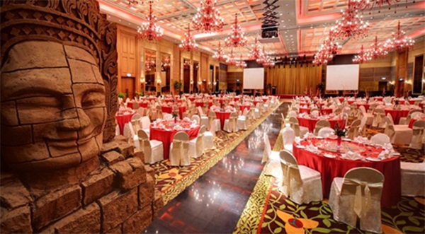 Ball room- the biggest room inside Nagaworld can accommodate 1,600 people