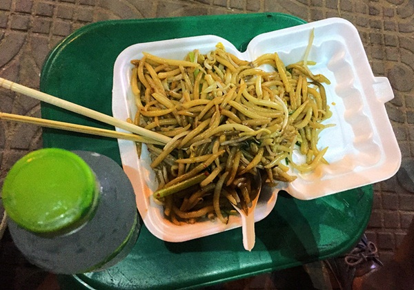 Local dish in Siem Reap