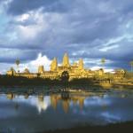 Unique beauty of Angkor Wat in wet season