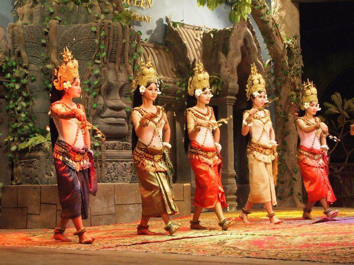 Apsara dance- an unique culture of Cambodia