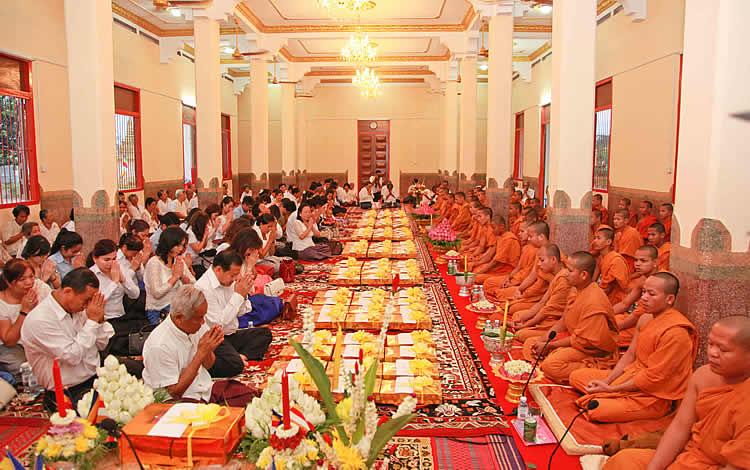 The Pchum Ben festival