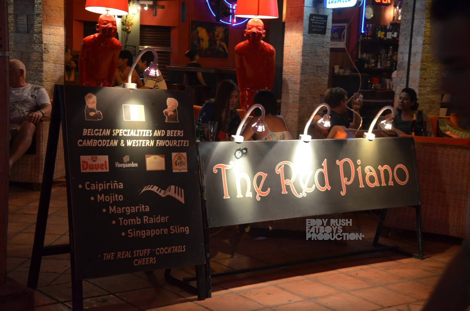 The Red Piano is one of the highlights of Siem reap nightlife