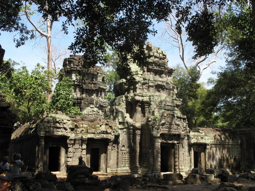 The mystery of Ta Prohm temple in Cambodia