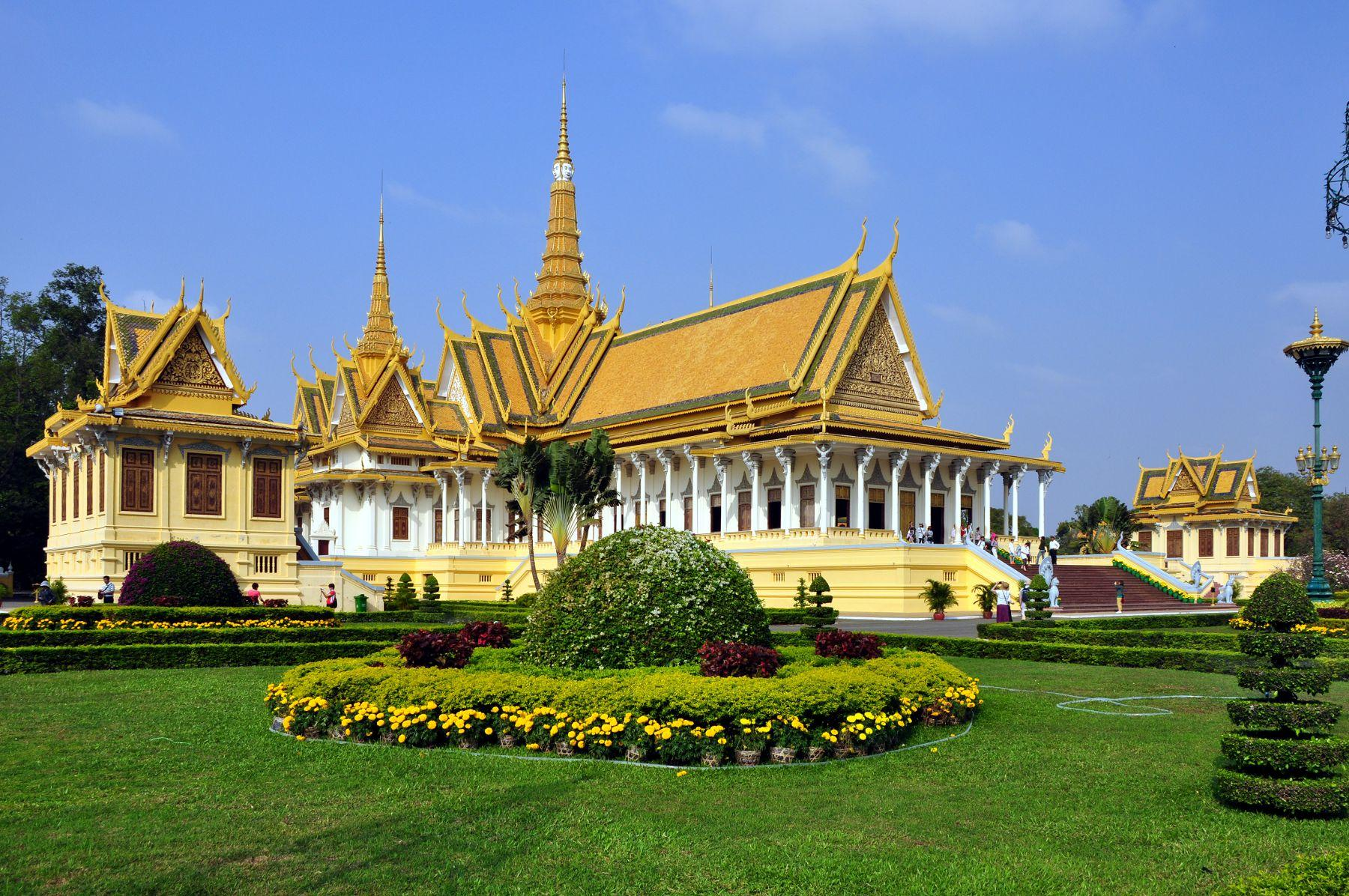 Royal Palace is the most attractive destination in Phnom Penh