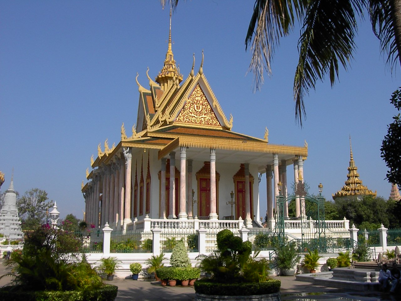 Sivel Pagoda – a compound of the palace complex