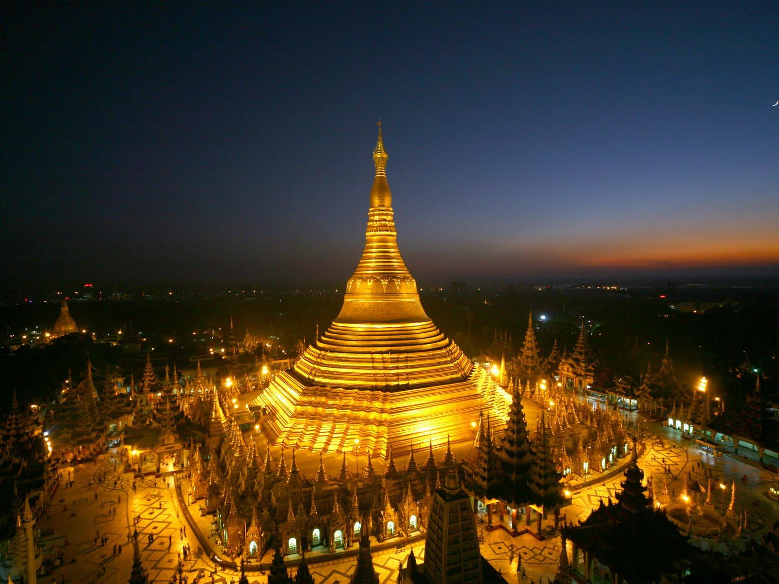 Golden Pagoda becomes the symbol of Myanmar