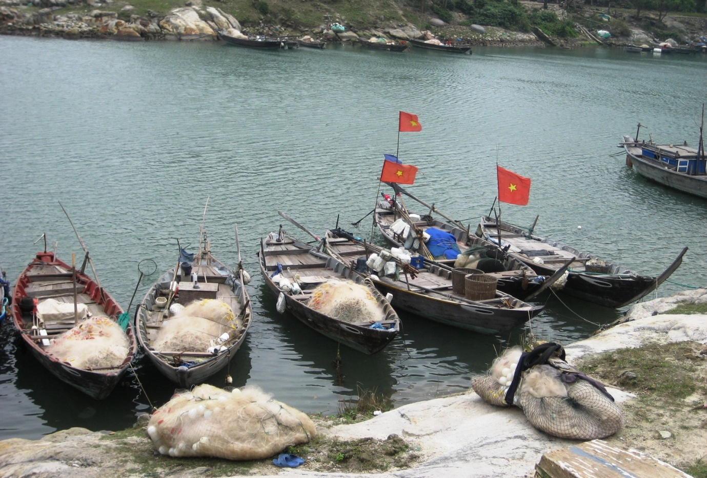 Huong fishing village