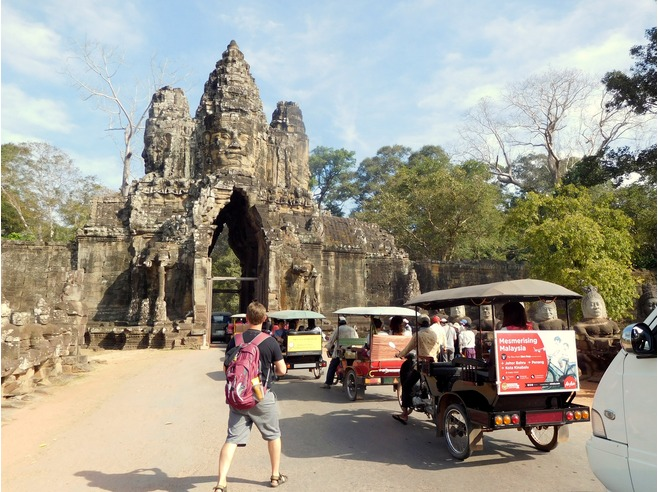Trannsportation to thư Angkor