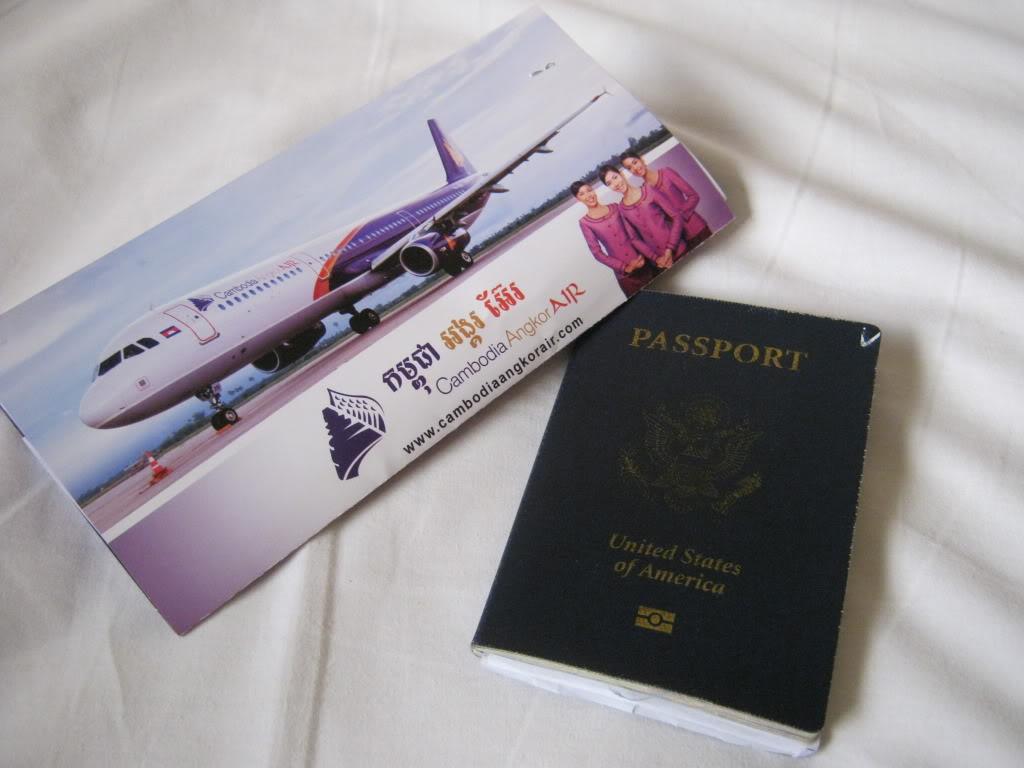 Air travel to Cambodia
