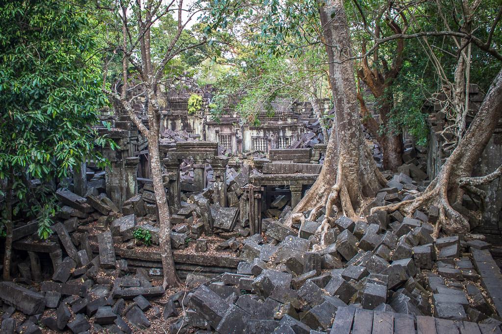 Beng Melea-Buddhist temple