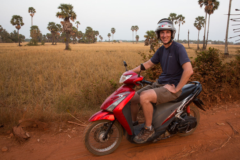Motorbiking through Cambodia