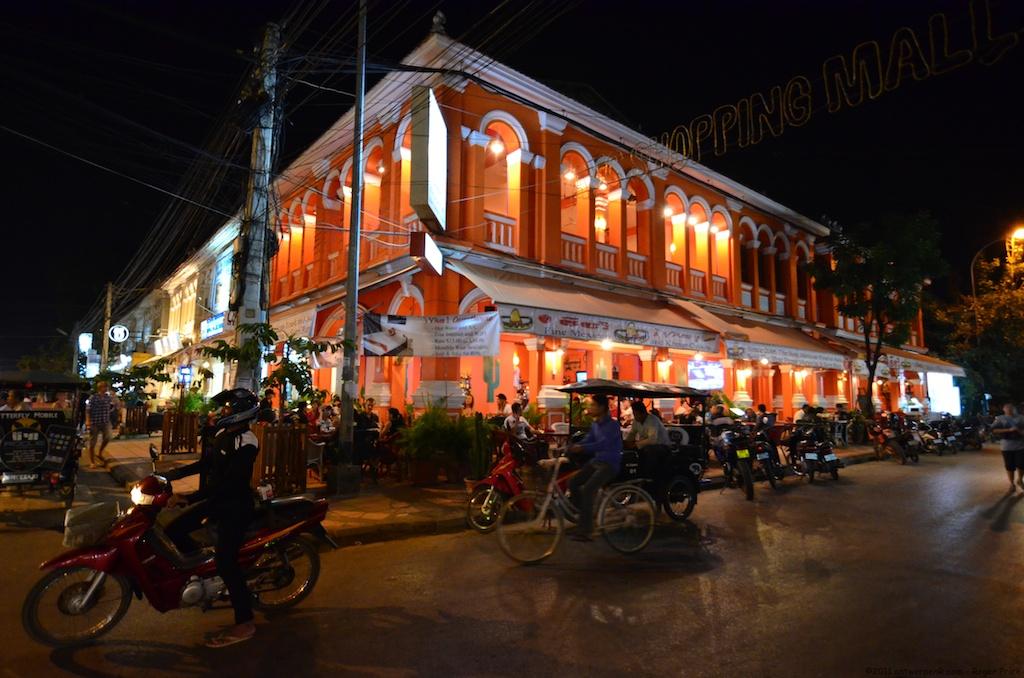 Nightlife in Siem Reap