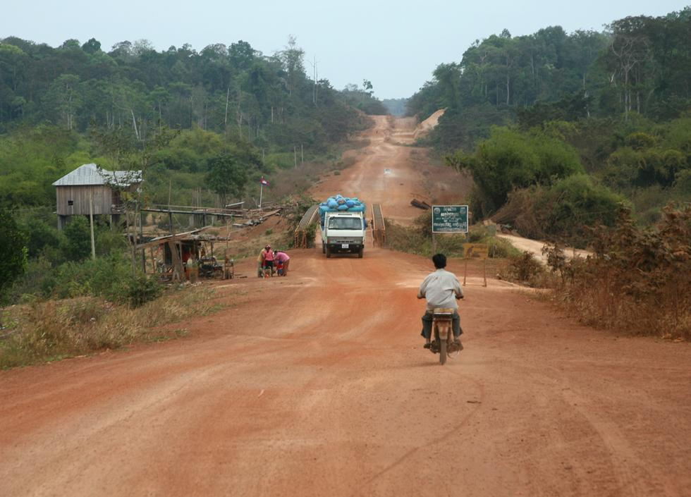 Road in Cambodia