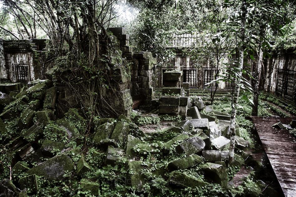 Take enough time to visit Beng Melea
