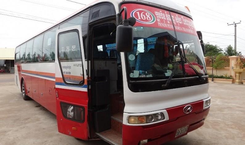 Bus between Phnom Penh and Battambang